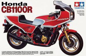 โมเดลประกอบ รถมอเตอร์ไซค์ Honda CB1100R 1/12