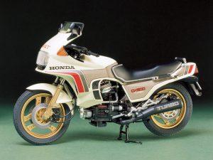 โมเดลประกอบ รถมอเตอร์ไซค์ Honda CX500 Turbo 1/12