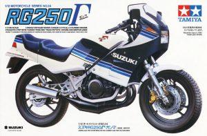 โมเดลประกอบรถ มอเตอร์ไซค์ Suzuki RG250 Gamma 1/12