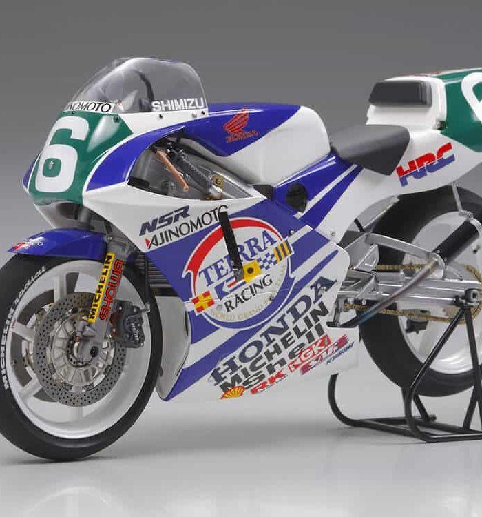จำหน่าย โมเดลมอเตอร์ไซค์ Ajinomoto Honda NSR250 ปี 90 1/12