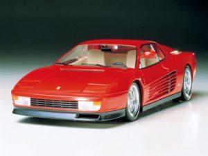โมเดลประกอบ รถยนต์เฟอรารี่ Tamiya Ferrari Testarossa 1/24