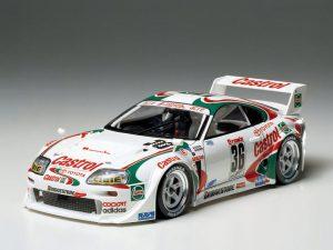 โมเดลประกอบ รถยนต์โตโยต้าซูปร้า Castrol Toyota Tom Supra GT 1/24