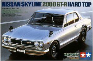 โมเดลประกอบ รถยนต์ทามิย่า Nissan Skyline 2000GTR Hard Top 1/24