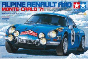 โมเดลประกอบ Renault Alpine A110 71 Monte Carlo 1/24