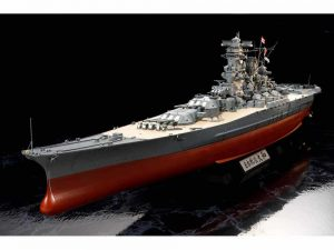 โมเดลเรือรบยามาโต้พรีเมียม 78025 TAMIYA YAMATO PREMIUM 1/350