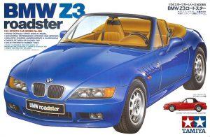 โมเดลรถยนต์ทามิย่า Bmw Z3 Roadster 1/24