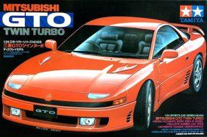 โมเดลประกอบ รถยนต์มิตซูบิชิจีทีโอ Mitsubishi GTO Twin Turbo 1/24