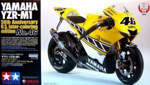 โมเดลประกอบ Yamaha YZR-M1 50th Anniversary 1/12