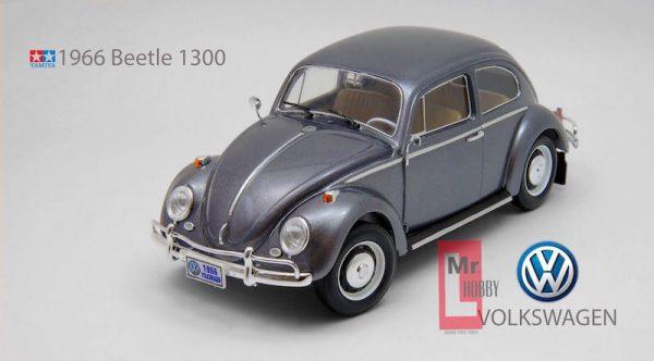 โมเดลประกอบ รถยนต์ทามิย่า VOLKSWAGEN BEETLE 1966 1/24