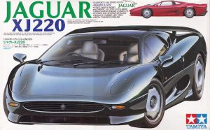 โมเดลประกอบ รถยนต์จากัวร์ Tamiya Jaguar XJ220 1/24