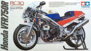 โมเดลประกอบ รถมอเตอร์ไซค์ Honda VFR750R 1/12