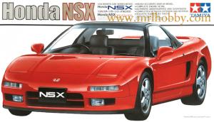 โมเดลประกอบ รถยนต์ทามิย่า Honda NSX 1/24