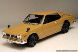 โมเดลประกอบรถยนต์ทามิย่า Nissan Skyline 2000GTR Hard Top 1 : 24