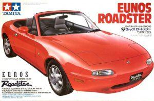 โมเดลประกอบรถยนต์มาสด้า mx 5 ทามิย่า Eunos Roadster 1/24