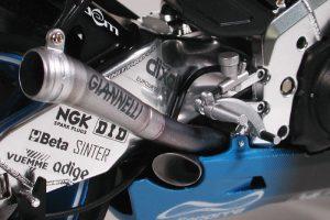 โมเดลรถมอเตอร์ไซค์ Konica Minolta Honda RC211V 06 1/12