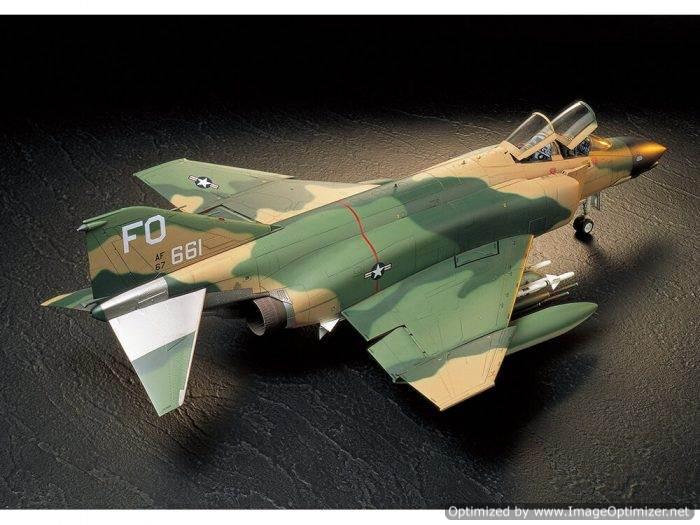 โมเดลเครื่องบินทามิย่า F-4C D Phantom II 1/32