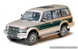 โมเดลประกอบรถยนต์ทามิย่า Mitsubishi Pajero Super Exceed 1 : 24 ขาย