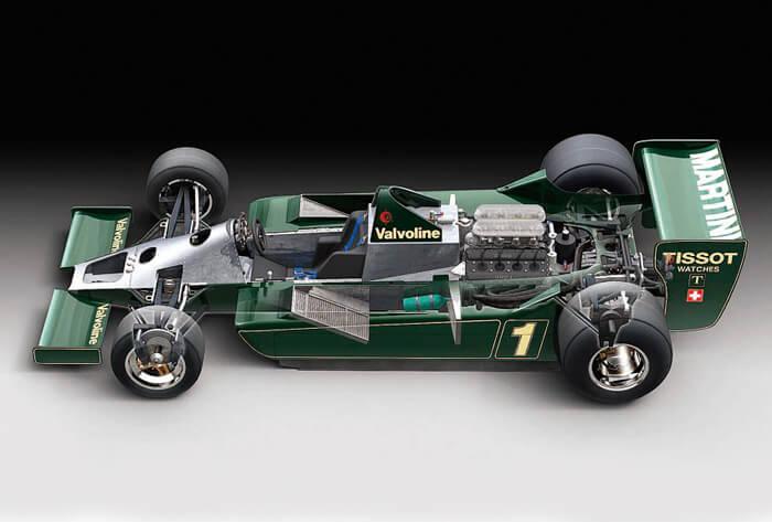 โมเดลประกอบรถยนต์ทามิย่า Martini Lotus type79 1979 1 : 20