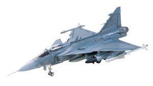 โมเดลเครื่องบินทามิย่า JAS-39A Gripen 1/72 บ.ข.20 ของ ทอ.ไทย