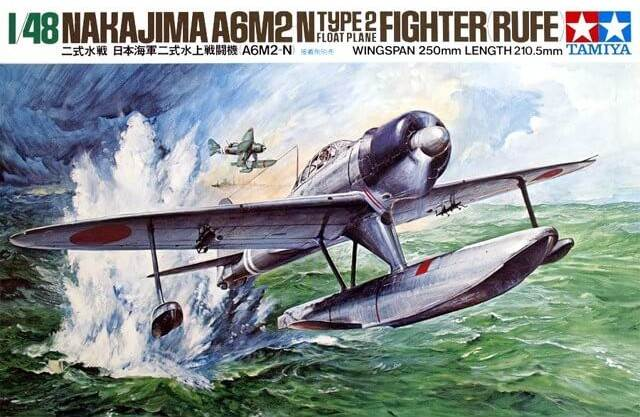 โมเดลประกอบเครื่องบินทามิย่า A6M2-N Type2 Rufe 1 : 48 ขาย