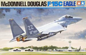 โมเดลเครื่องบิน McDonnell Douglas F-15C Eagle 1/32