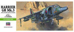 โมเดลประกอบเครื่องบิน Hasegawa Harrier GR.Mk.III 1 : 72 ขาย