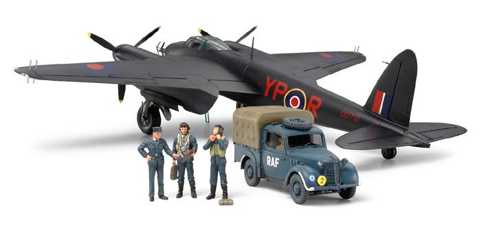 โมเดลเครื่องบิน ทามิย่า De Havilland Mosquito NF Mk.II 1/48