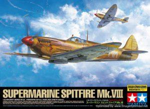 โมเดลเครื่องบินทามิย่า Supermarine Spitfire Mk.VIII 1/32