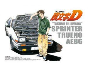 โมเดลรถยนต์ประกอบ AOSHIMA TAKUMI AE86 SPLINTER ขาย