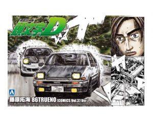 โมเดลรถยนต์ประกอบ Aoshima FUJIWARA TAKUMI 86 VOL 37 AE86 ขาย
