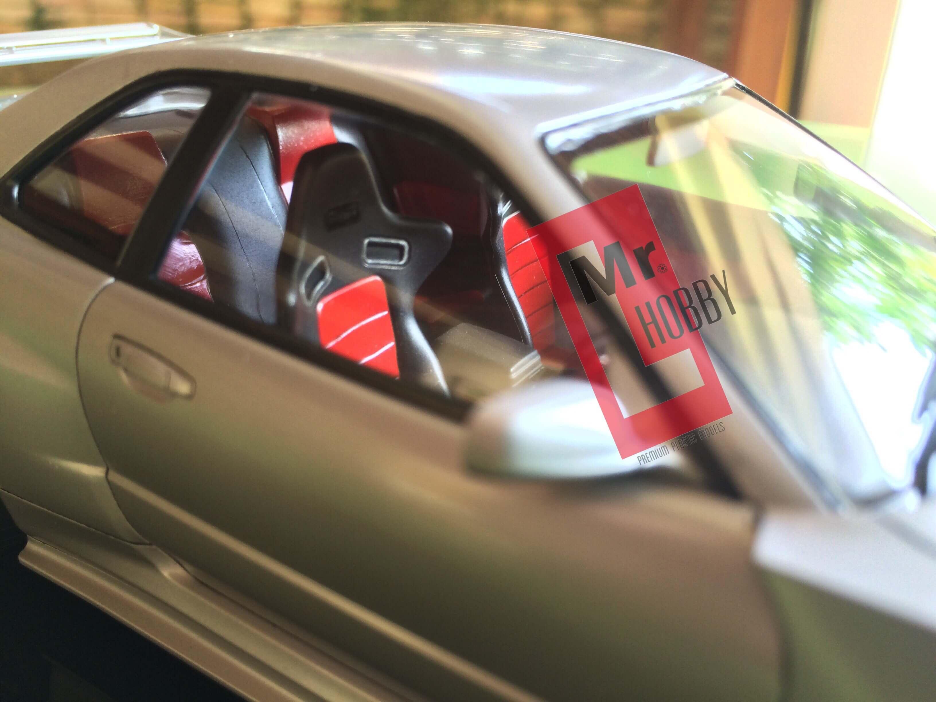 โมเดลประกอบรถยนต์ทามิย่า R34 GT-R Z-Tune 1/24