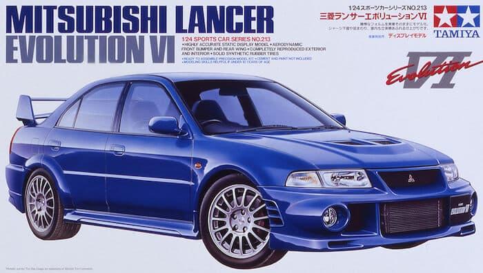 รถทามิย่า TAMIYA 24213 MITSUBISHI LANCER EVOLUTION VI 1/24