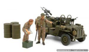 โมเดลทามิย่า 25152 BRITISH SAS COMMANDO VEHICLE 1944