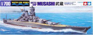 โมเดลเรือมุซาชิ TAMIYA TA31114 MUSASHI 1/700