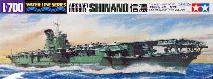 โมเดลเรือทามิย่า TAMIYA 31215 IJN SHINANO 1/700