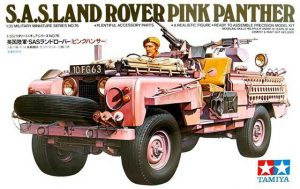 ทามิย่า British SAS Land Rover pink panther
