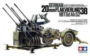 โมเดลปตอ. German 20mm Flakvierling 38 1 : 35