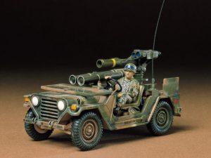 โมเดลรถจิ๊บทามิย่า U.S. M151A2 Tow Missile Launcher 1/35