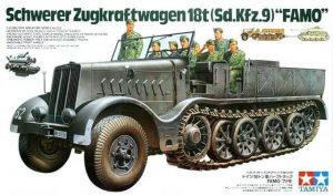 ทามิย่า 35239 German 18T Heavy Half Track