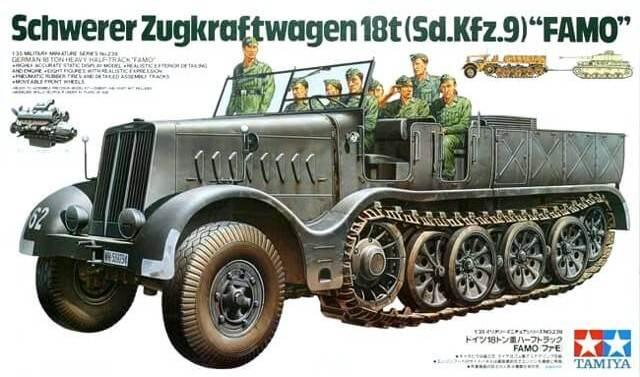 ทามิย่า 35239 German 18T Heavy Half Track
