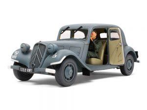 โมเดลรถเจ้าหน้าที่ฝรั่งเศษ Citroen Traction 11CV Staff Car 1/35