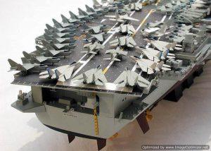 โมเดลเรือทามิย่า 78007 U S Enterprise Arcrft Carrier 1 : 350