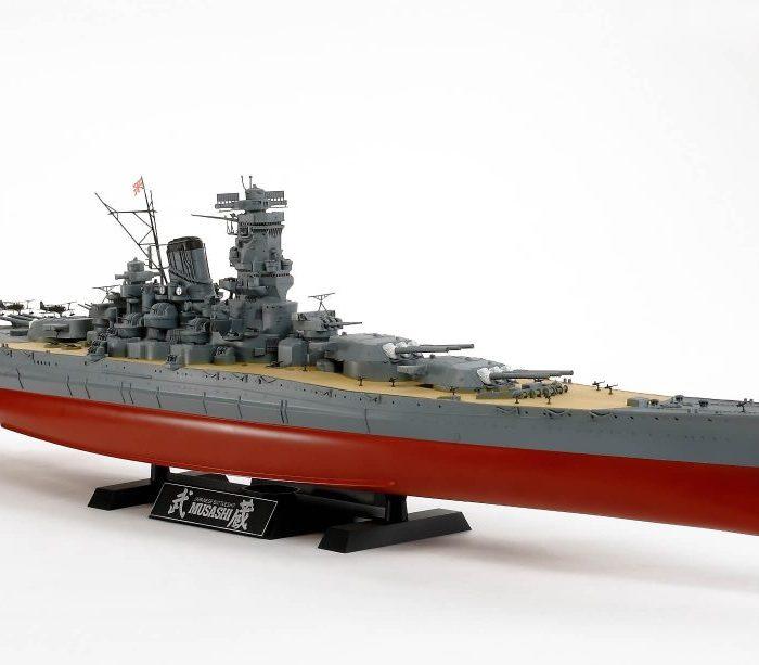 เรือประจัญบานมูซาชิ 78031 TAMIYA MUSASHI 1/350
