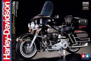 โมเดลมอเตอร์ไซค์ ทามิย่าฮาร์เลย์ Harley Davidson FLH Classic 1/6