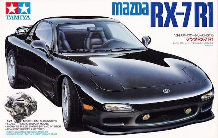 โมเดลประกอบ รถยนต์ทามิย่า MAZDA RX-7 R1 1/24