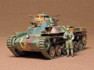 โมเดลรถถังทามิย่า Japanese Medium Tank Type 97 Chi-ha 1/35