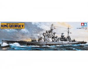 โมเดลเรือประจัญบาน KING GEORGE V 1/350