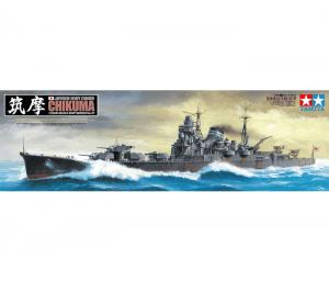 โมเดลเรือลาดตระเวน Tamiya Chikuma 1/350