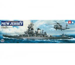 โมเดลเรือประจัญบานนิวเจอร์ซีย์ USS Battleship New Jersey 1/350