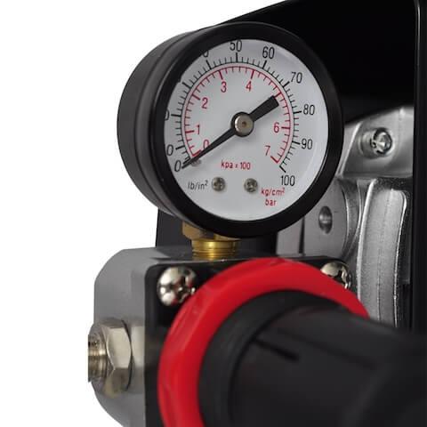 ปั๊มลมราคาถูก AS-18A/B Mini Compressor งานโมเดล กันพลา
